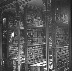 The Cincinnati Public Library in 1874